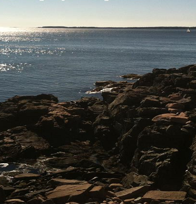 photo of the atlantic coast at schoodic woods